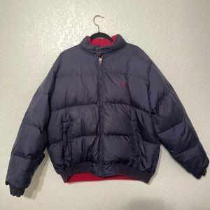 Vintage Polo Ralph Lauren Puffer Jacket REVERSABLE